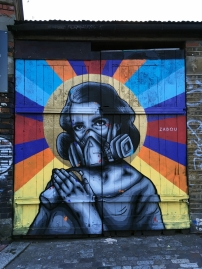"UK London 7- ""(s)Pray"" by Zabou 2016"