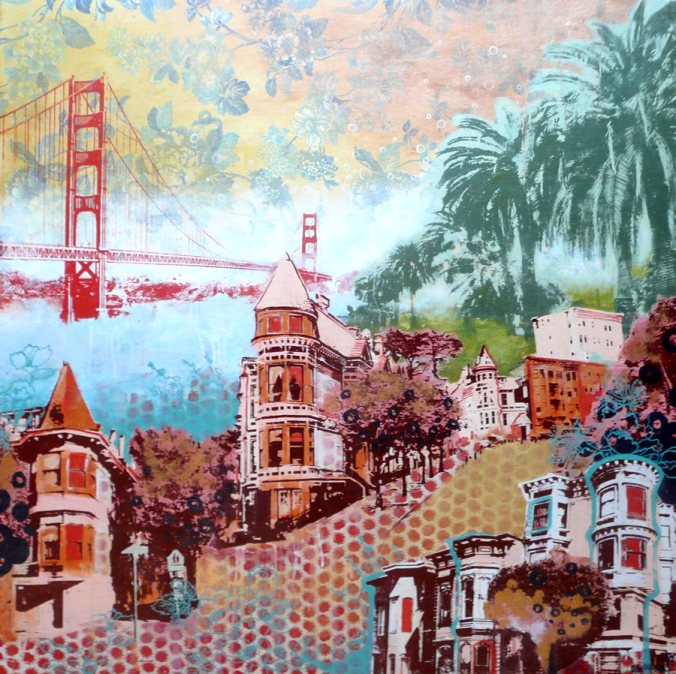 San Francisco colored by Hilary Williams (@hilaryatcircus)