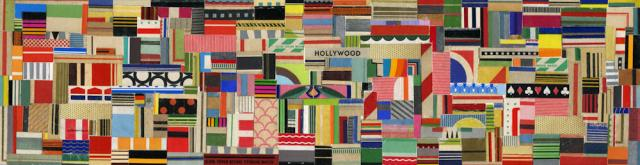 Hollywood. Vintage Matchbook Collage