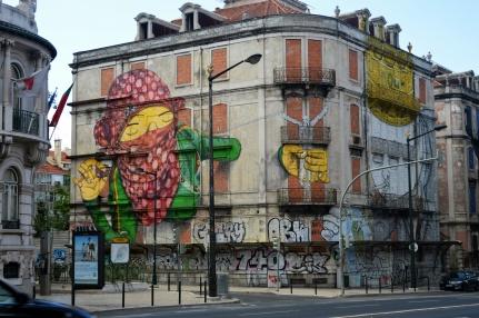 Portugal Lisbon 2014 - Os Gemeos
