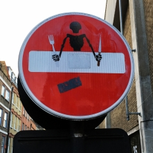 Clet Abraham - Shoreditch, London