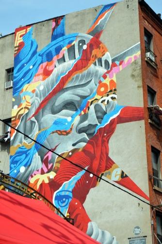 US NY Manhattan, Little Italy - Tristan Eaton