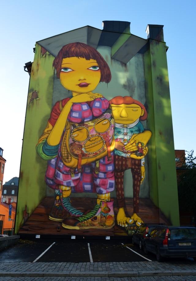 Sweden Stockholm - OS GEMEOS